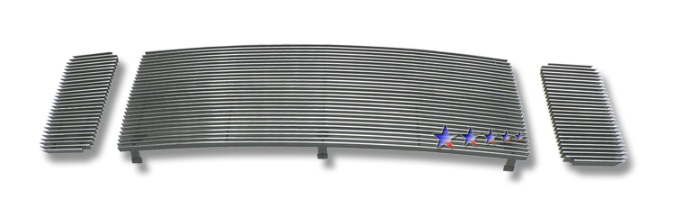 Ford Super Duty Fx4 2008-2010 Polished Main Upper Aluminum Billet Grille