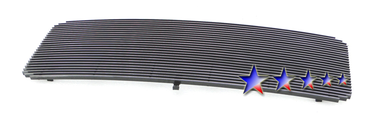 Ford Super Duty  2011-2012 Black Powder Coated Main Upper Black Aluminum Billet Grille