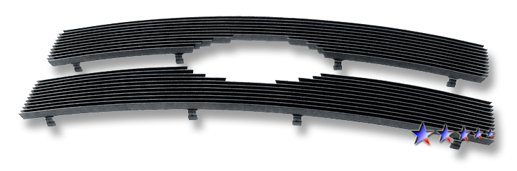 Ford F150  2009-2012 Black Powder Coated Main Upper Black Aluminum Billet Grille
