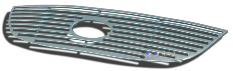Ford Windstar Not For Limited 2000-2003 Polished Main Upper Perimeter Grille