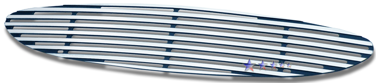 Ford Taurus  2000-2003 Polished Main Upper Perimeter Grille