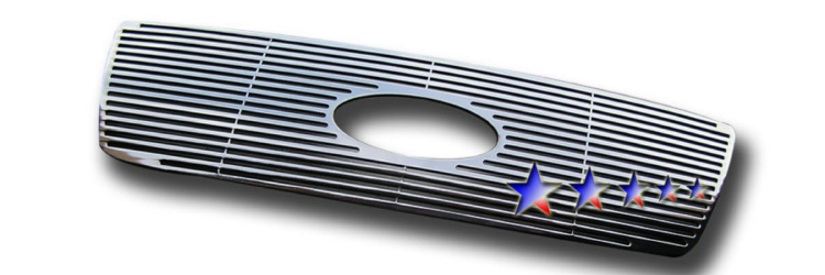 Ford F150  2004-2008 Polished Main Upper Perimeter Grille