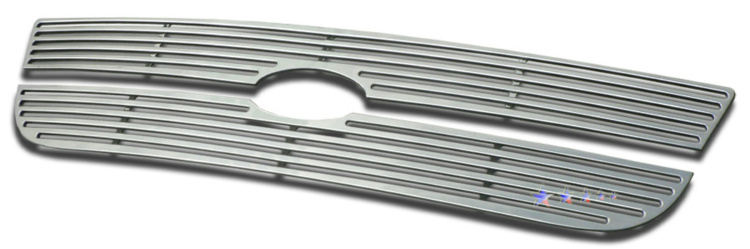 Ford F150  1997-1998 Polished Main Upper Perimeter Grille
