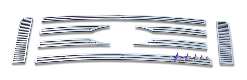 Ford F150  2009-2012 Polished Main Upper Perimeter Grille