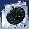 13 Inch SPAL High Performance Fan - (Push) Curved Blade