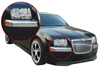 2007 Chrysler 300 300C  Chrome Front Bumper Covers