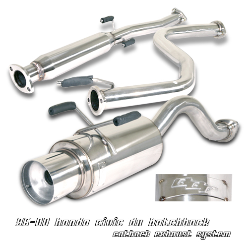 Honda Civic 1996-2000 Hb  Cat Back Exhaust System