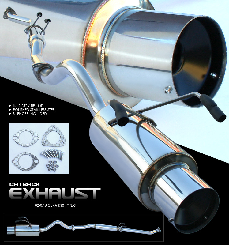Acura RSX 2002-2007 Type-S  Cat Back Exhaust System