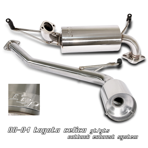 Toyota Celica 2000-2004 Gt/Gts  Cat Back Exhaust System