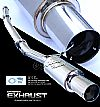 Mitsubishi Lancer 2003-2004 Evo 8  Cat Back Exhaust System