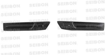 Nissan Gtr R35 2009-2010 Carbon Fiber Fender Duct Logos