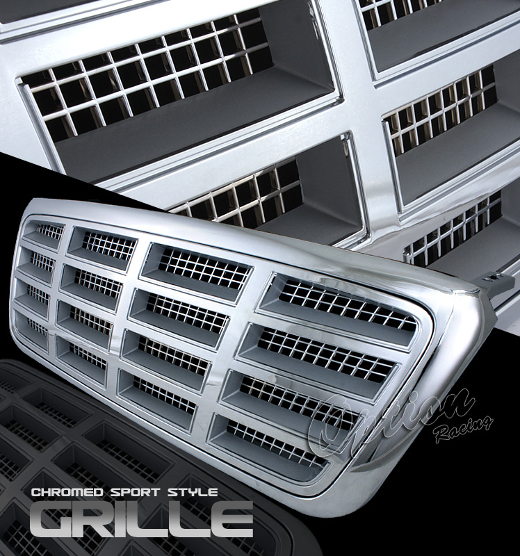 Ford F150 2004-2008  Diamond Style Chrome Front Grill