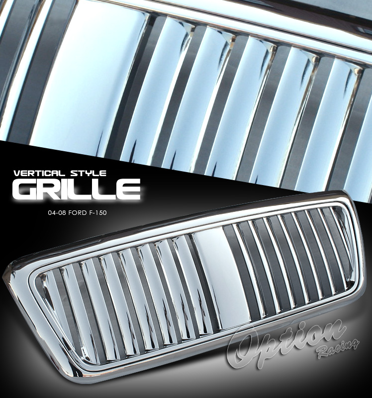 Ford F150 2004-2008  Vertical Style Front Grill