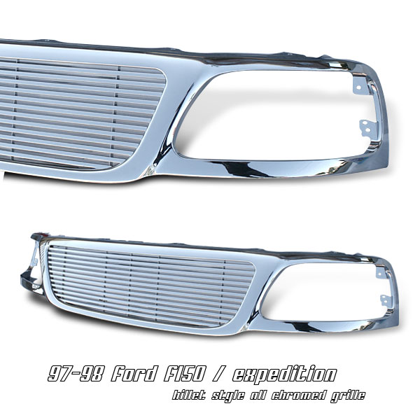 Ford Expedition 1997-1998  Billet Style Front Grill