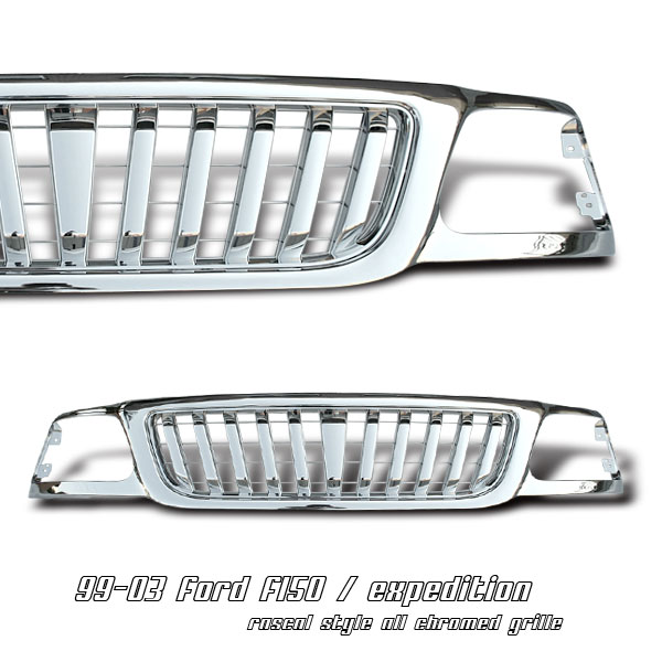 Ford Expedition 1999-2003  Vertical Style Front Grill