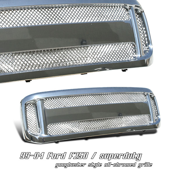 Ford Super Duty 1999-2004  Gangbuster Style Front Grill