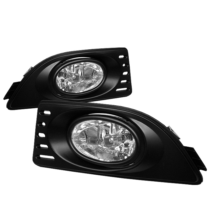 Acura Rsx 2005-2007  Clear Fog Lights