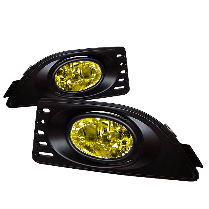 Acura Rsx 2005-2007  Yellow Fog Lights