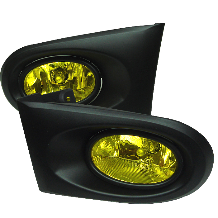 Acura Rsx 2002-2004  Yellow Fog Lights