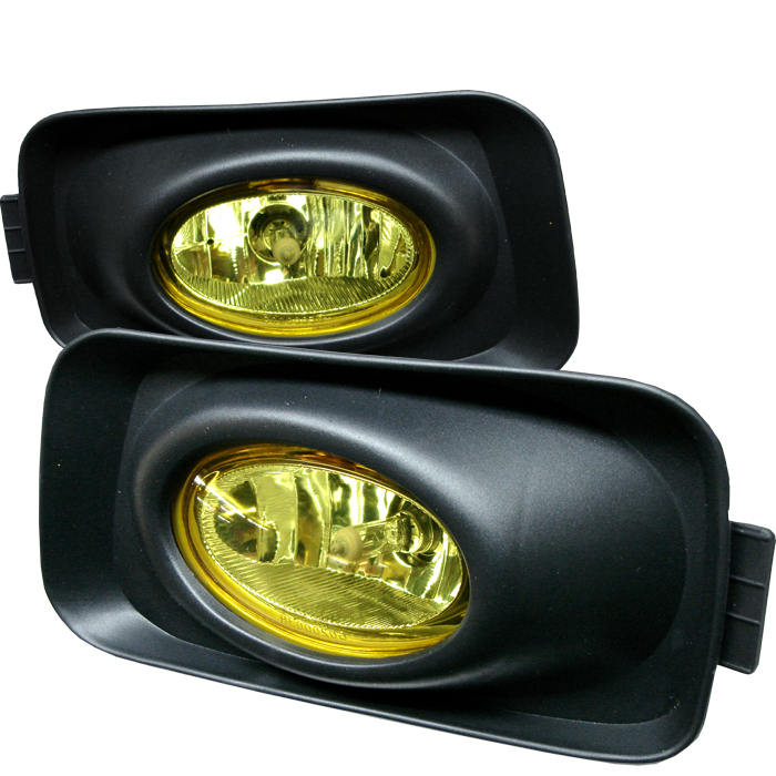 Acura Tsx 2003-2005  Yellow Fog Lights