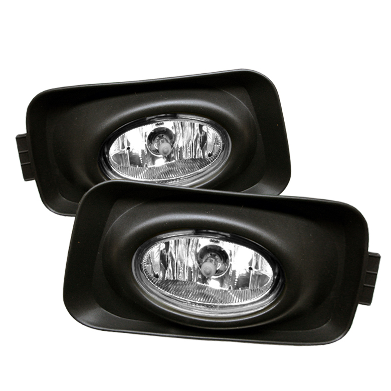 Acura Tsx 2003-2005  Clear Fog Lights