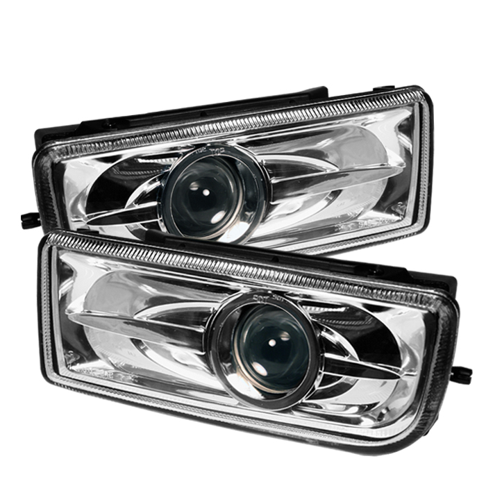 Bmw 3 Series 1992-1998 E36 Clear Fog Lights  - (no Switch)