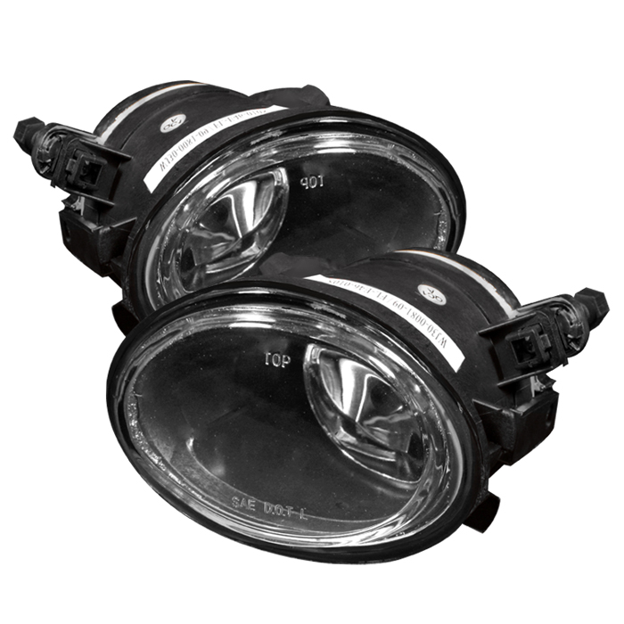 Bmw M3 2001-2006 E46 Clear Fog Lights  - (no Switch)