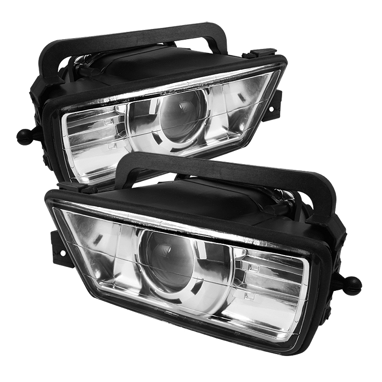 Bmw 5 Series 1989-1995 E34 Clear Fog Lights  - (no Switch)