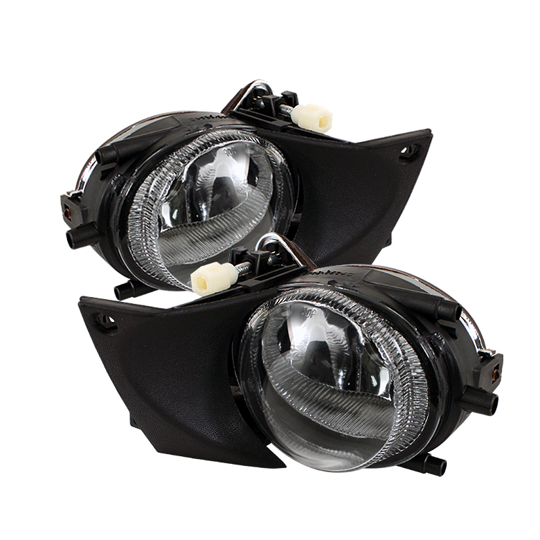 Bmw 5 Series 2001-2003 E39 Clear Crystal Fog Lights  - (no Switch)