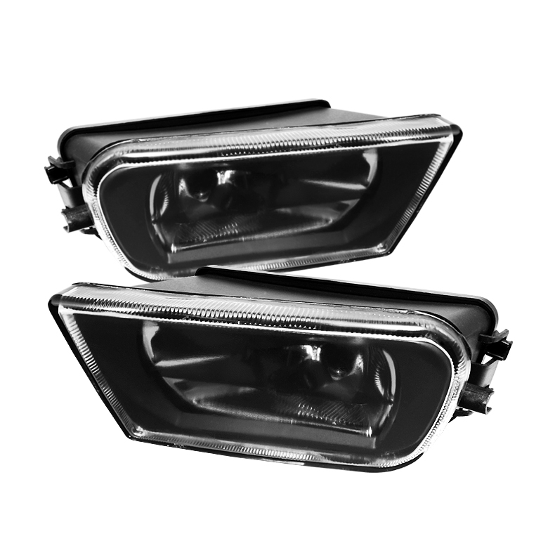 Bmw 5 Series 1997-2000 E39 Clear Crystal Fog Lights  - (no Switch)