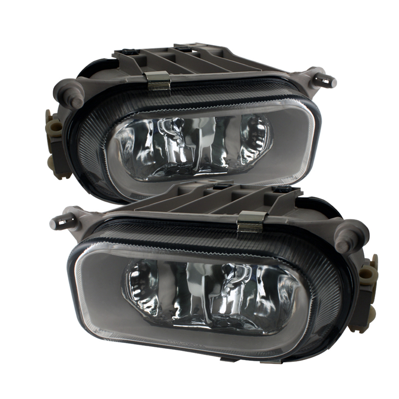 Mercedes Benz E Class 1996-1999 (non/amg) Clear Fog Lights  - (no Switch)