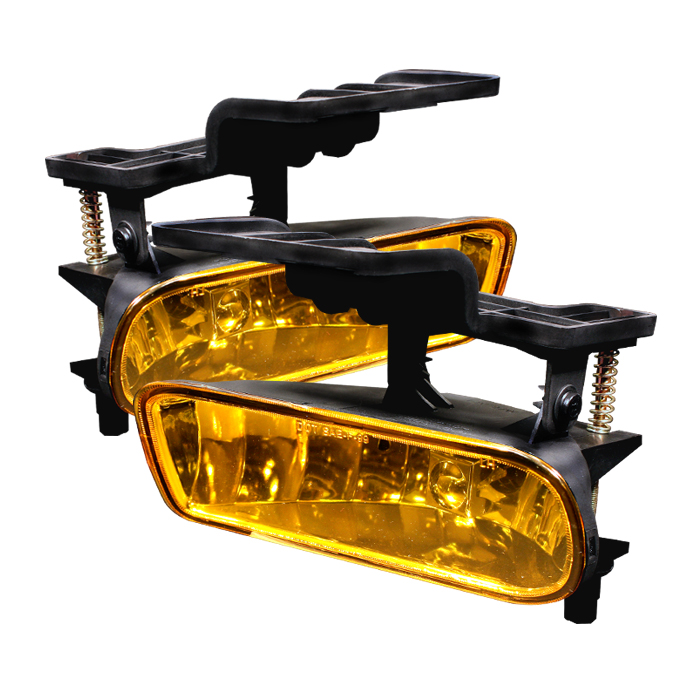 Chevrolet Silverado 1999-2002  Yellow Fog Lights  - (no Switch)