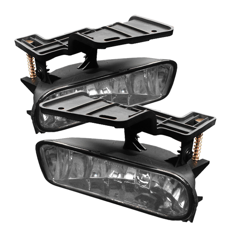 Chevrolet Silverado 1999-2002  Clear Fog Lights  - (no Switch)