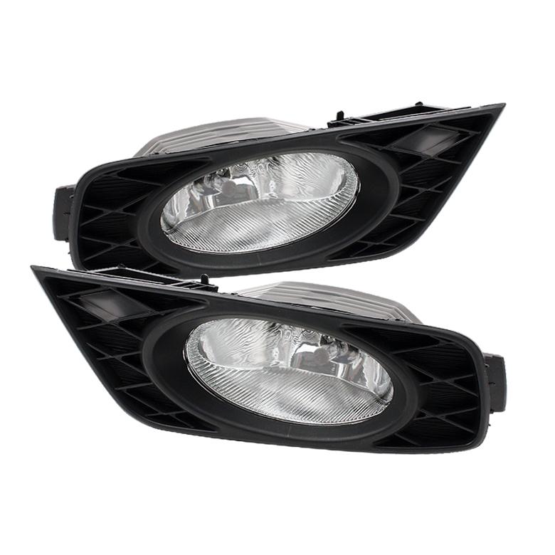 Honda Odyssey 2008-2009  Clear Fog Lights