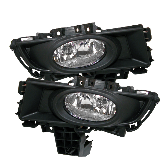 Mazda Mazda 3 2007-2008  Clear Fog Lights