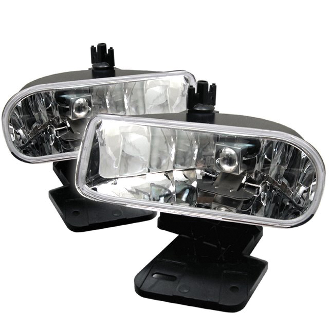 Chevrolet Silverado 2003-2006  Clear Fog Lights  - (no Switch)