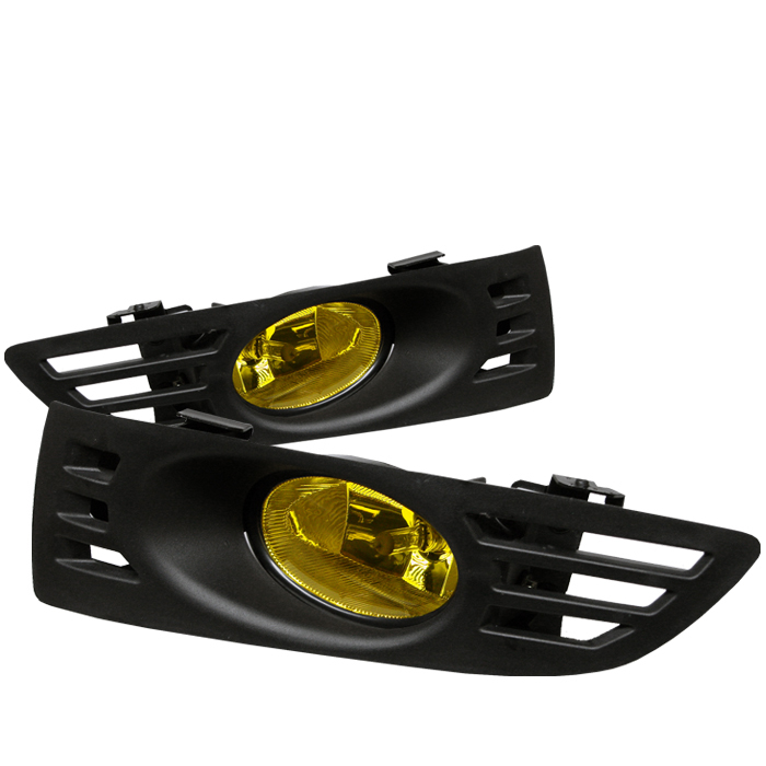 Honda Accord 2003-2005 2dr Yellow Fog Lights