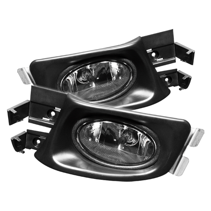 Honda Accord 2003-2005 4dr Smoke Fog Lights