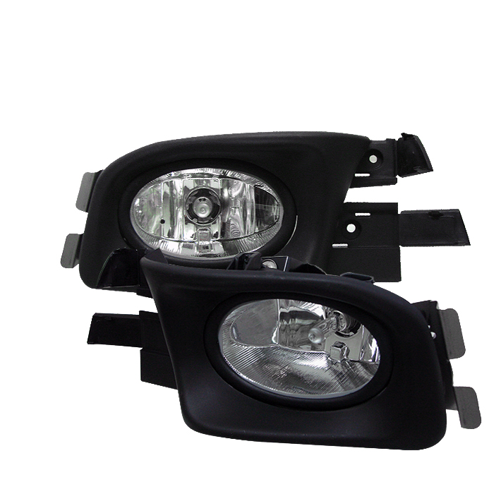 Honda Accord 2003-2005 4dr Clear Fog Lights