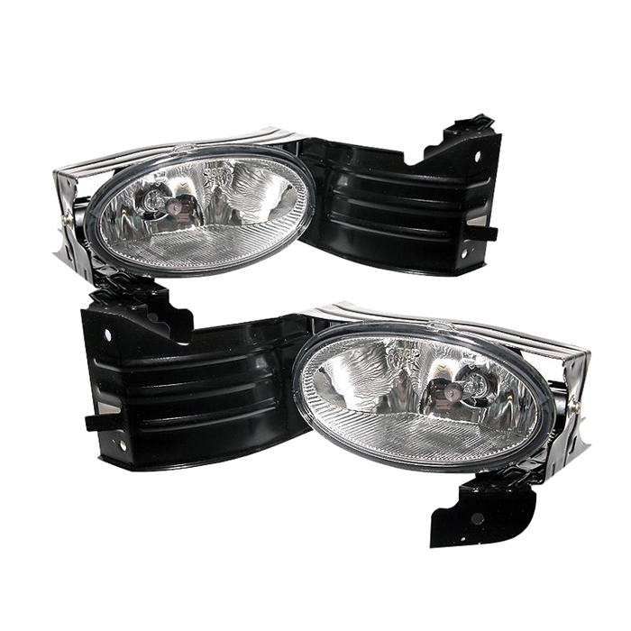 Honda Accord 2008-2009 2dr Clear Fog Lights