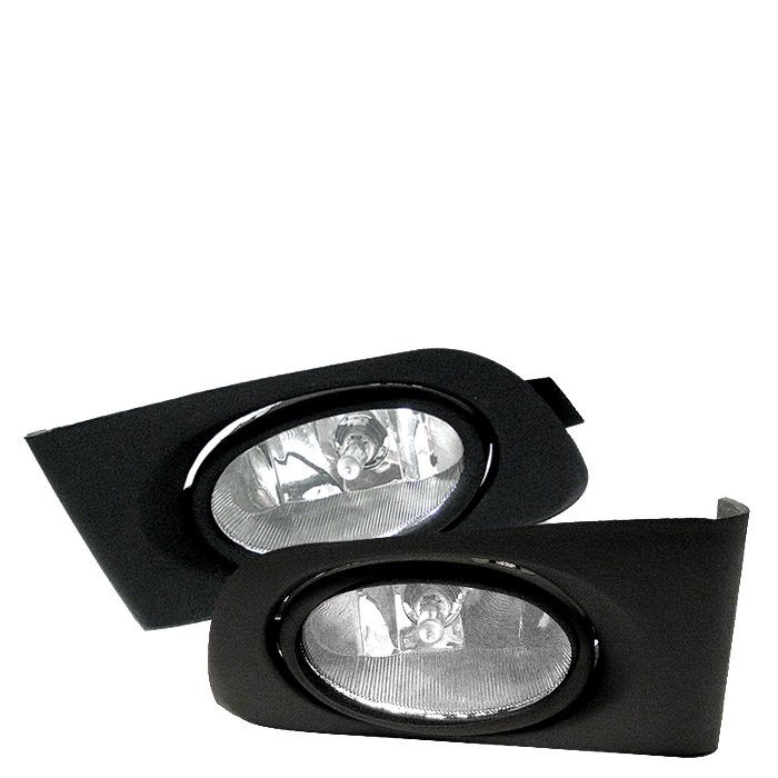 Honda Civic 2001-2003  Clear Fog Lights