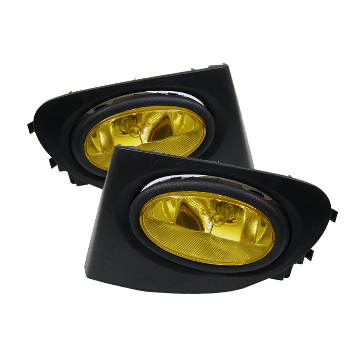 Honda Civic 2003-2005 Si 3dr Yellow Fog Lights