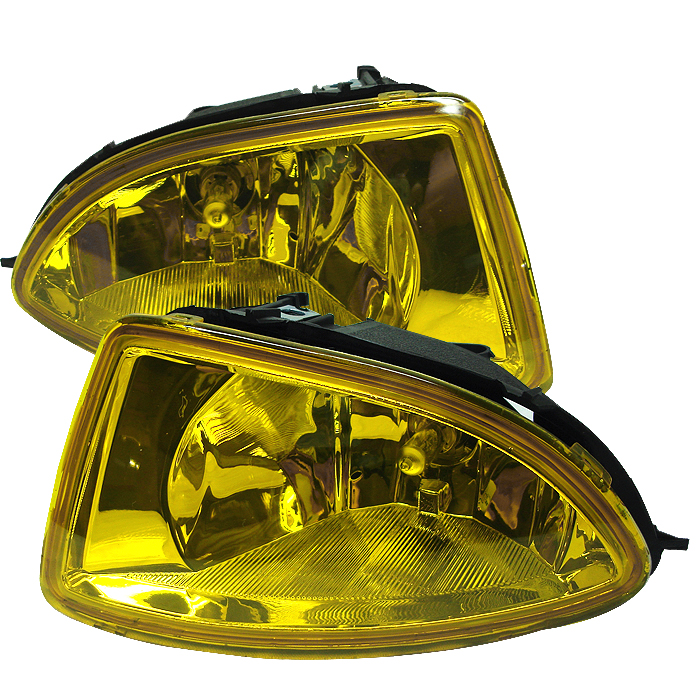 Honda Civic 2004-2005  Yellow Fog Lights