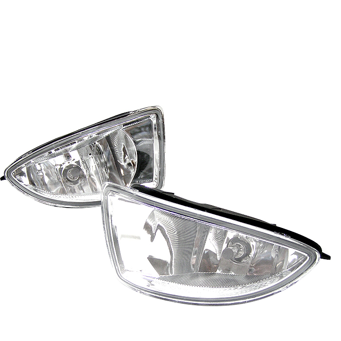 Honda Civic 2004-2005 2/4dr Clear Fog Lights