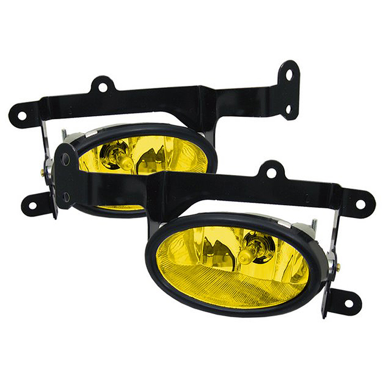 Honda Civic 2006-2008 2dr Yellow Fog Lights