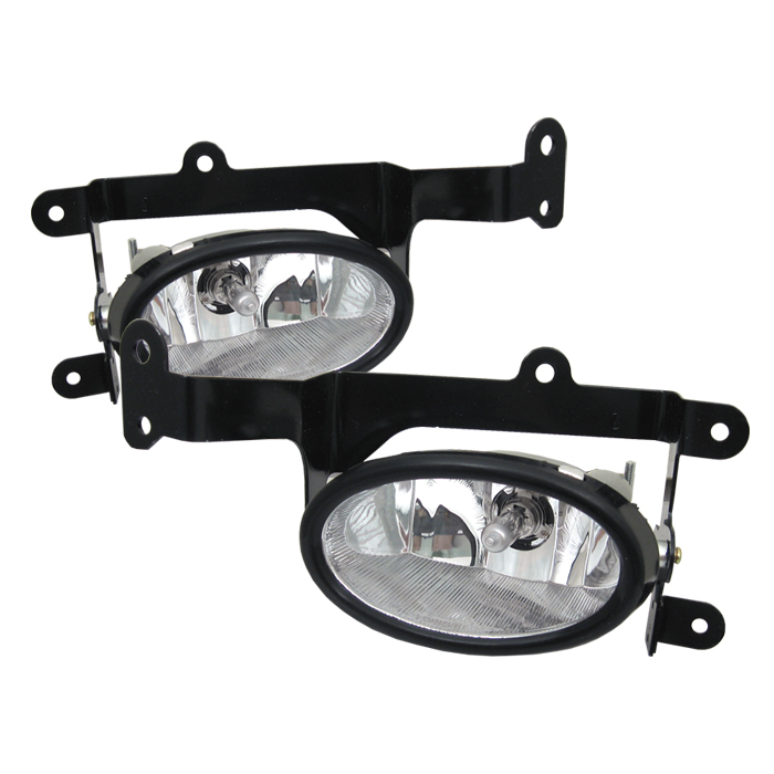 Honda Civic 2006-2008 2dr Clear Fog Lights