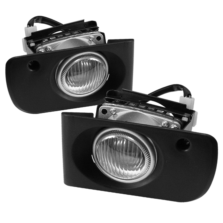Honda Civic 1992-1995 4dr Clear Fog Lights