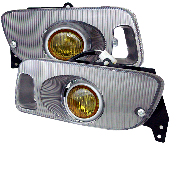 Honda Civic 1992-1995 2/3dr Yellow Fog Lights