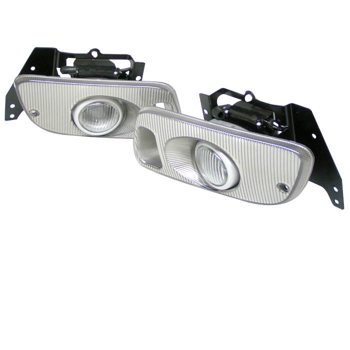 Honda Civic 1992-1995 2/3dr Clear Fog Lights