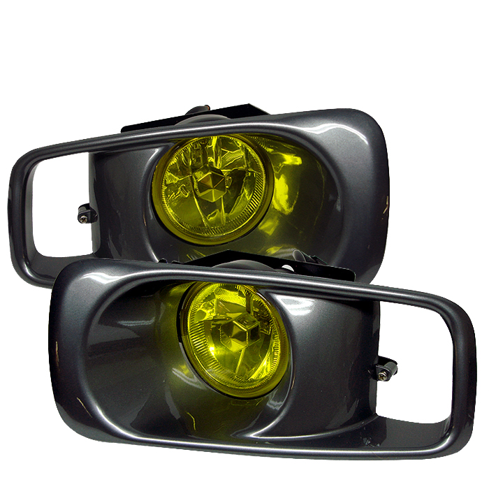 Honda Civic 1999-2000  Yellow Fog Lights